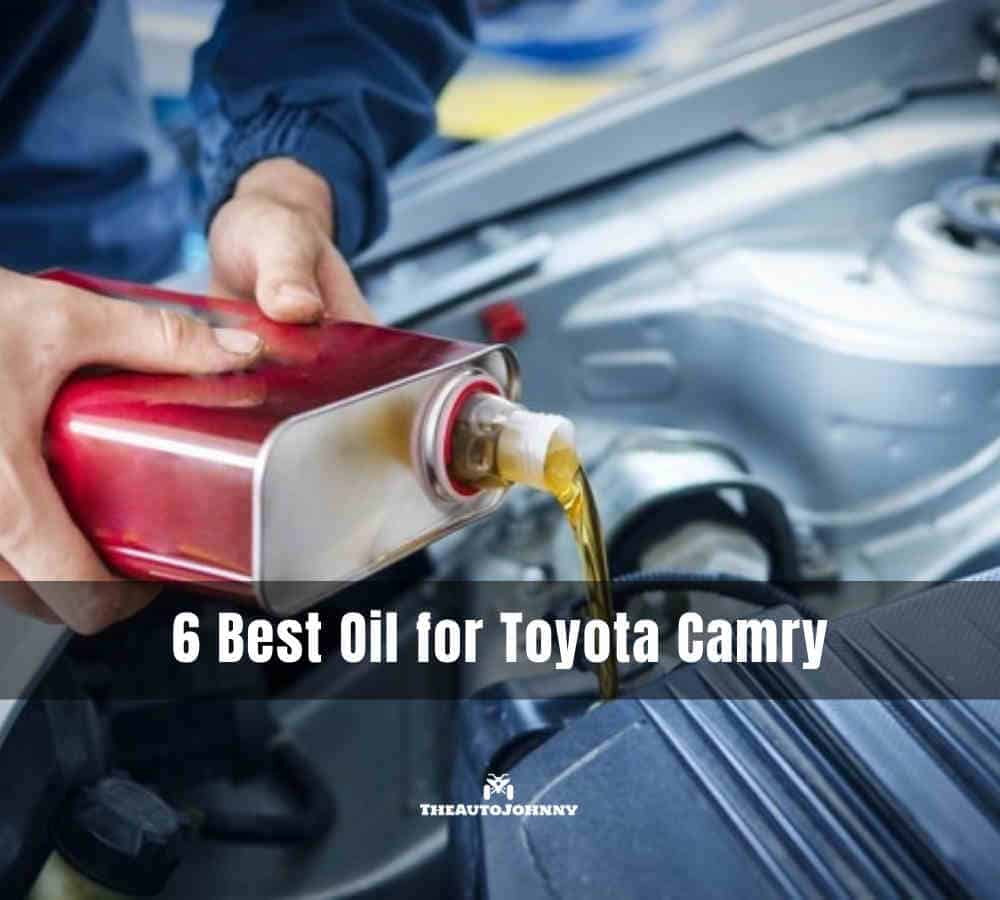 Best Oil for Toyota Camry