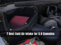 7 Best Cold Air Intake for 5.9 Cummins [Reviews & Guide]